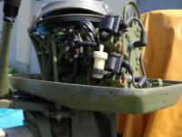 Johnson 40 Le külmotor