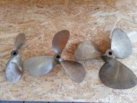 Új állapotú propellerek, csigák