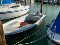 Horgász csónak Torqeedo e-motorral