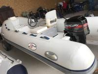 E-Sea 420 gumicsónak (motorral)